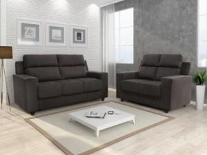 [MAGAZINE LUIZA] Sofá 2 e 3 Lugares Chenille Mobi - Somopar  - R$550