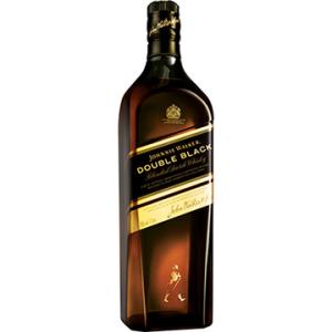 [EFACIL] Whisky Escocês Double Black Garrafa 1 Litro - Johnnie Walker POR R$ 177