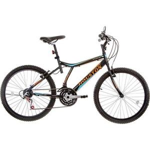 [Americanas] Bicicleta Houston Atlantis Land Aro 26 21 Marchas Preta por R$ 290