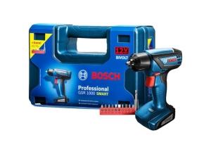 [Kabum] Furadeira a Bateria Bosch Bivolt Professional - GSR 1000 Smart por R$ 184