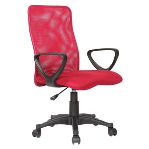 [Extra] Cadeira Home Office Basic c/ Encosto em Net Nylon e Regulagem de Altura à Gás - Preta - Importado por R$ 135