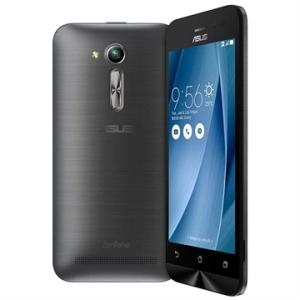 "[EFACIL] Smartphone Zenfone Go, Dual Chip, Prata, Tela 4.5"", 3G+Wi-Fi, Android 5.1, 5MP, 8GB - Asus POR R$ 489"