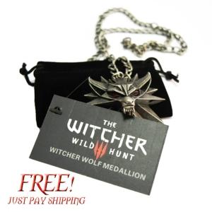 [JagFox] Medalhão The Witcher - R$0,00 PAGUE SÓ O FRETE