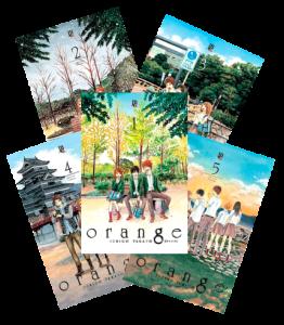 [SARAIVA] Coleção Orange - Vol. 1 ao 5