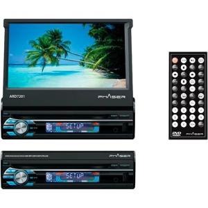"""[Americanas] DVD Automotivo Multimídia Phaser ARD7201 7"""" USB/SD com Controle Remoto - R$299"""