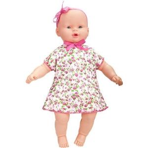 [AMERICANA]  Boneca Colinho da Mamãe Vestido Estampado - Brink+ By Estrela R$ 30