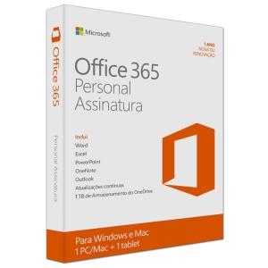 [AMERICANAS] - Microsoft Office 365 Personal - Para 1 Computador (PC ou Mac) e 1 Tablet -  83% - APENAS MAIS 5 HORAS