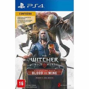[Americanas] Game - The Witcher 3: Wild Hunt Blood & Wine - Pacote de Expansão - PS4 por R$ 88