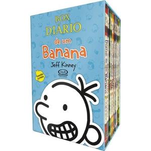 [Americanas] Box Diário de um Banana (8 Volumes) - R$62