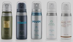 [Natura] Desodorante Antitranspirante  Aerossol - 75ml R$ 12