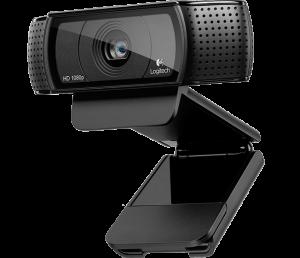 [KaBuM!] WebCam Logitech C920 Pro HD 15MP Full HD1080p