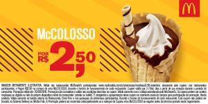 [Mc Donalds] McColosso por R$ 3