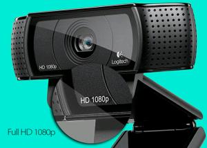 [Kabum] - WebCam Logitech C920 Pro HD 15MP Full HD1080p