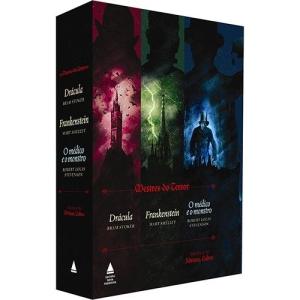 [Submarino/Amazon] - Livro - Mestres do Terror: Drácula; Frankenstein; O Médico e o Monstro