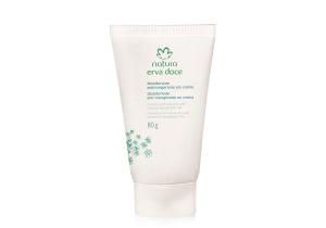 [Natura] Desodorante Antitranspirante em Creme Erva Doce - R$ 9