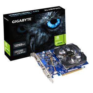 [Kabum] Placa de Vídeo VGA GigaByte GeForce GT 420 2GB DDR3 128-Bits PCI Express 2.0 rev.3.0 - GV-N420-2GI por R$ 192