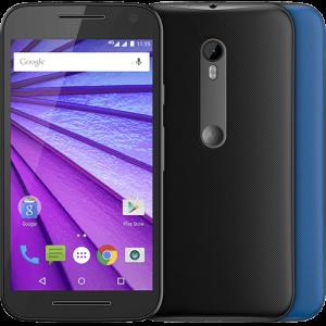 """[Americanas] Smartphone Motorola Moto G (3ª Geração) Colors Dual Chip Android 5.1 Tela 5"""" 16GB 4G Câmera 13MP - Preto + 1 Capa Azul  por R$ 817"""