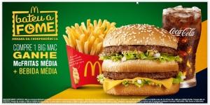 [Mc Donalds] Compre 1 BIG MAC e Ganhe Mc Fritas Média + Bebida Média