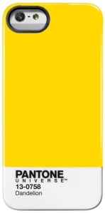 [SARAIVA]  Capa iPhone 5/5S Pantone Dandelion - Amarela
