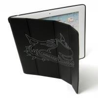 [SARAIVA] Capa Protetora Mobimax Stripedog Preta Mmrn 14866 Para Novo Ipad, iPad 2 e iPad 4