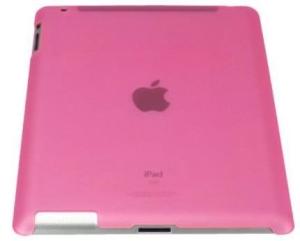 [SARAIVA] Capa Protetora Emborrachada Geonav Ipa2-03trap Rosa Para iPad 2 e Novo iPad