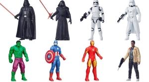 [Submarino] Bonecos Hasbro Star Wars e Marvel - R$20 cada