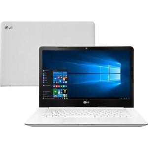 "[ShopTime] Notebook Ultra Slim LG 14U360-L.BJ31P1 Intel Celeron Quad Core 4GB 500GB LED 14"" Windows 10 - R$ 1.259,00"