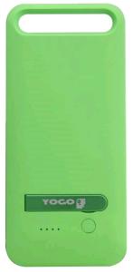 (Saraiva)Capa Carregadora iPhone 5C Verde Yogo por R$