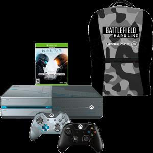 [Submarino] Console Xbox One 1TB Edição Limitada + Game Halo 5: Guardians + 2 Controles + Mochila Battlefield Hardline - R$ 1.699,00