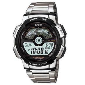 [Casas Bahia] Relógio Masculino Digital Multifunção Casio AE-1100WD-1A – Metal por R$ 98