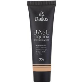 [Extra] Base Liquida Tonalizante Dailus Color 06 Natural 30gr por R$11