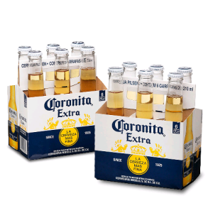 [Empório da Cerveja] Kit Coronita Extra 210ml - 50% Off na Segunda Caixa -
