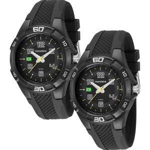 [Sou Barato] Kit com 2 Relógios Mondaine Analógico Brasil 69212G0MVNV1  - R$54
