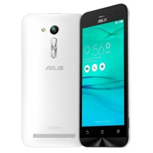 "[EFACIL] Smartphone Zenfone Go, Dual Chip, Branco, Tela 4.5"", 3G+Wi-Fi, Android 5.1, 5MP, 8GB - Asus POR R$ 464"