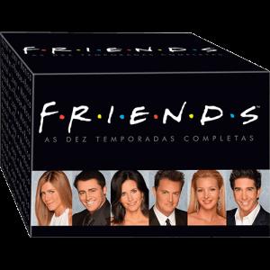[Submarino] Coleção Friends - As Dez Temporadas Completas (40 DVDs) por R$ 88