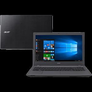 """[SUBMARINO] Notebook Acer E5-574-592S Intel Core i5 8GB 1TB LED 15,6"""" Windows 10 - Grafite por R$ 2069,10"""