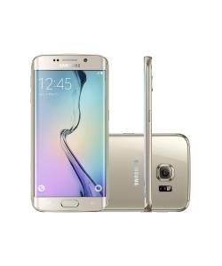 """[C&A] Smartphone samsung galaxy s6 edge 4g tela 5.1"""" 64gb câmera 16 mp processador octa-core 4g vivo dourado por R$ 2199"""