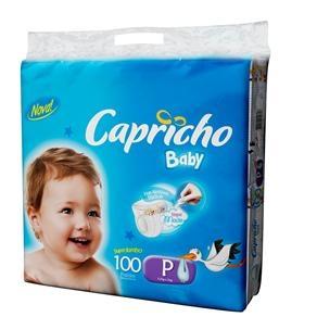 [Extra] 100 fraldas Capricho Baby Super Jumbo P -  R$29