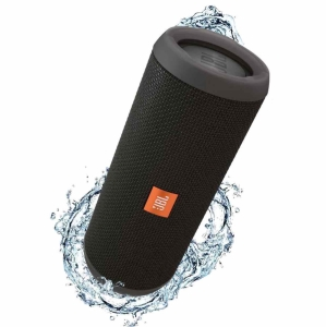 Submarino - Caixa de Som Bluetooth JBL FLIP3 Preta 16W RMS Bluetooth/Entrada P2 Amplificada 2X8W
