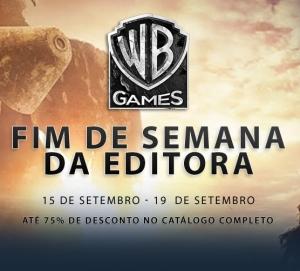 [STEAM] FIM DE SEMANA DA EDITORA WB GAMES (Promoção dos jogos da editora) - A partir de R$ 4,24