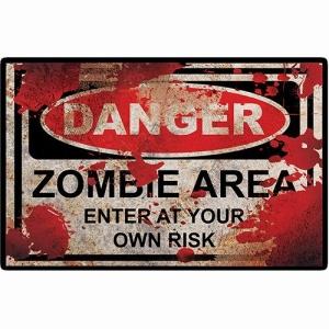 [Submarino] Placa Decorativa Zombie Zone - R$ 9