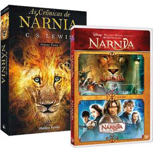 [Submarino] As Crônicas de Nárnia - Livro + Coleção DVD por R$ 17