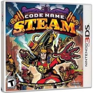 [Walmart] Code Name S.T.E.A.M. - Nintendo 3DS - R$ 29,90