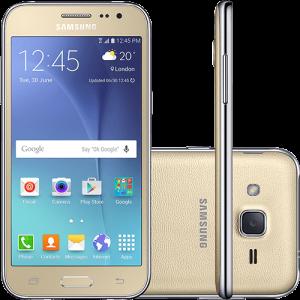 [Submarino] Smartphone Samsung Galaxy J2 Dual Chip Android 5.1 8GB 4G Câmera 5MP Quad Core 1.3GHz- Dourado
