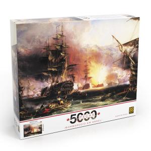 [Loja Grow] Puzzle 5000 peças Bombardeio em Argel Por R$99,99