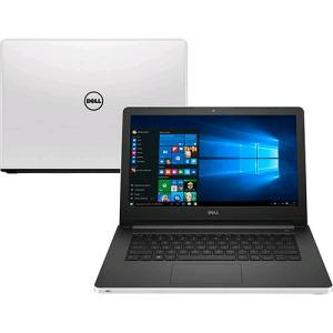 "[Submarino] Notebook Dell Inspiron i14-5458-B40 Intel Core i5 8GB (2GB de Memória Dedicada) 1TB 14"" Windows 10 - Branco(Cód. 126883259)"