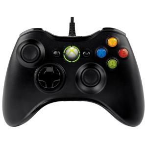 [Ponto Frio] Controle Microsoft Oficial Preto com Fio - Xbox 360 - R$128