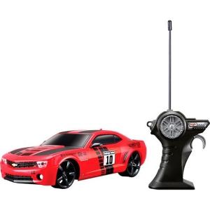 [Americanas] Rádio Control 1:24 Chevrolet Camaro SS RS Vermelho 2010 - Maisto por R$ 88