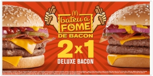 [MC Donalds] Compre 1 Deluxe Bacon e leve 2- Pegue o Cupom