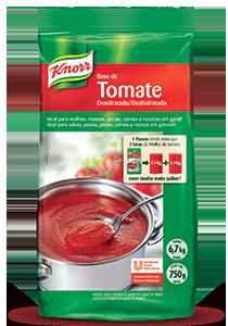 [Unilever] Amostra Gráts de Base de Tomate Desidratado Knorr.